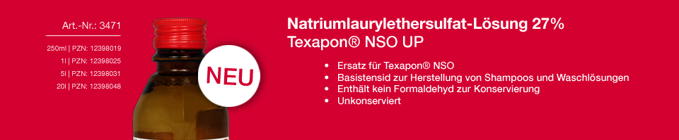 Neues Produkt Texapon NSO UP